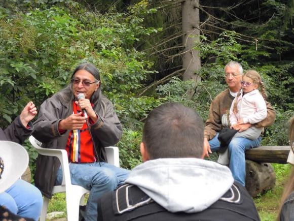 Conferenza Gilbert Douville - Lakota/Sioux