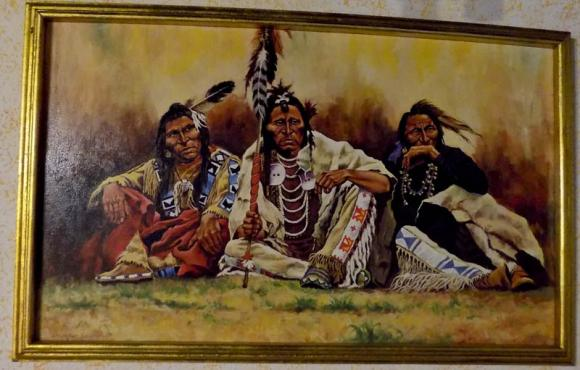 Blackfeet spectators
