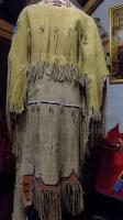 woman dress Arapahoe native american style