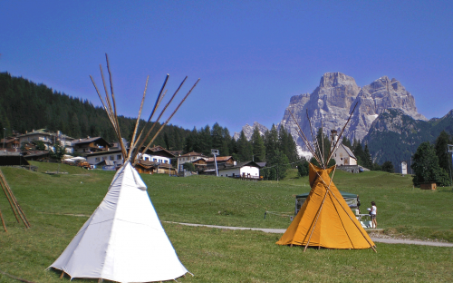 Tepee -Indian Village - Selva di Cadore (BL)