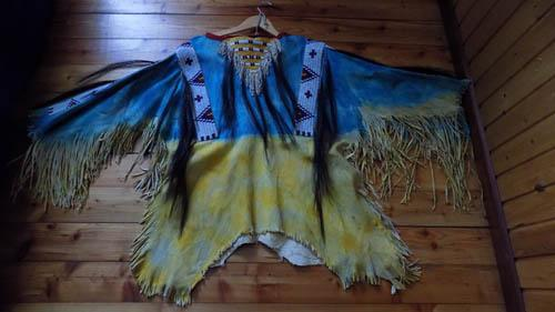 War shirt Lakota/Sioux style | Indian Village